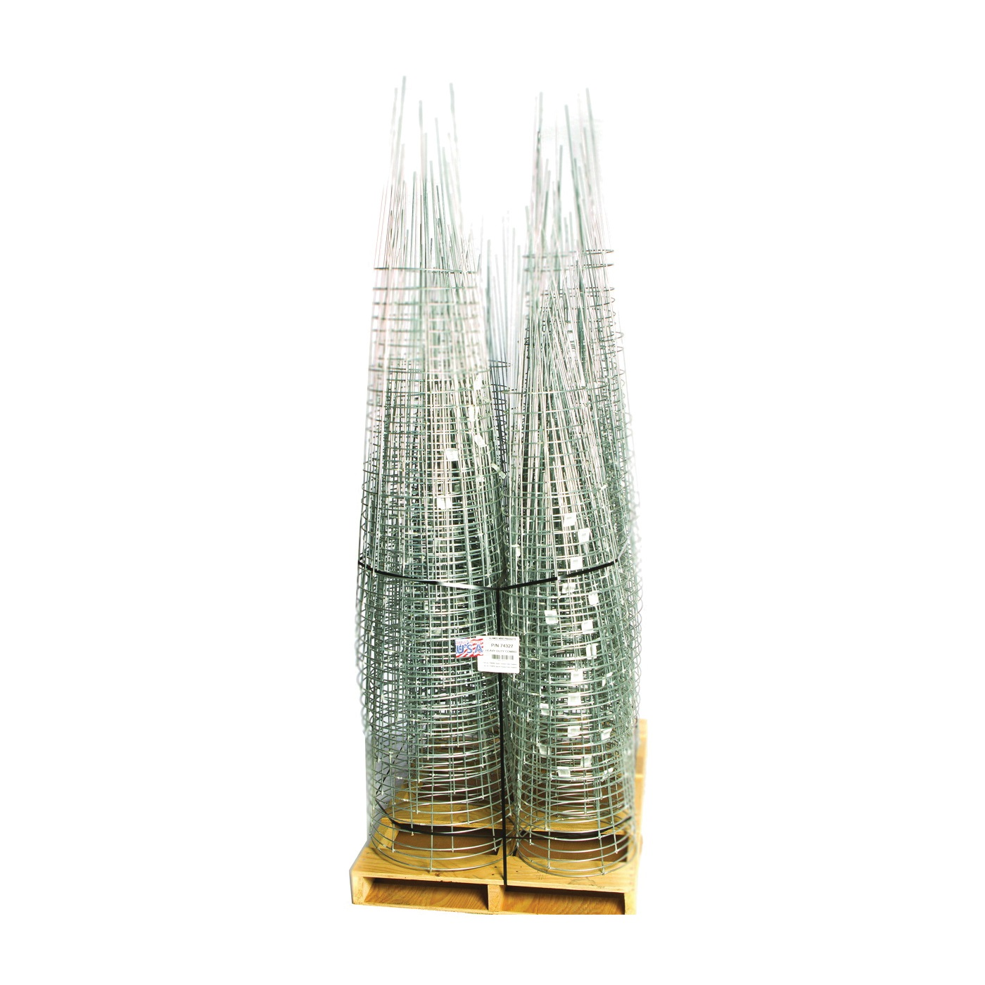 Picture of Glamos Wire 74327 Plant Support, 42, 54 in L, Galvanized