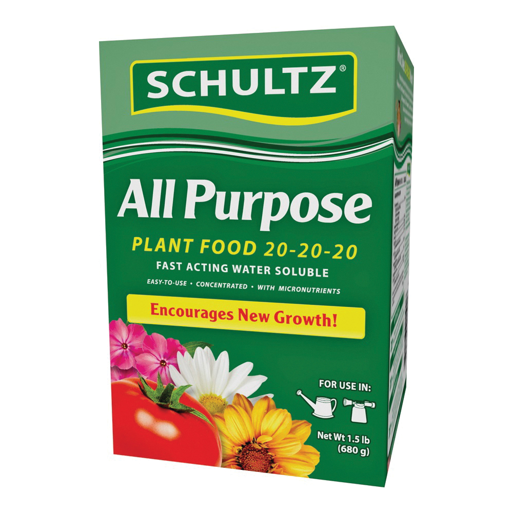Picture of Schultz SPF70680 Plant Fertilizer, Powder, 1.5 lb Package