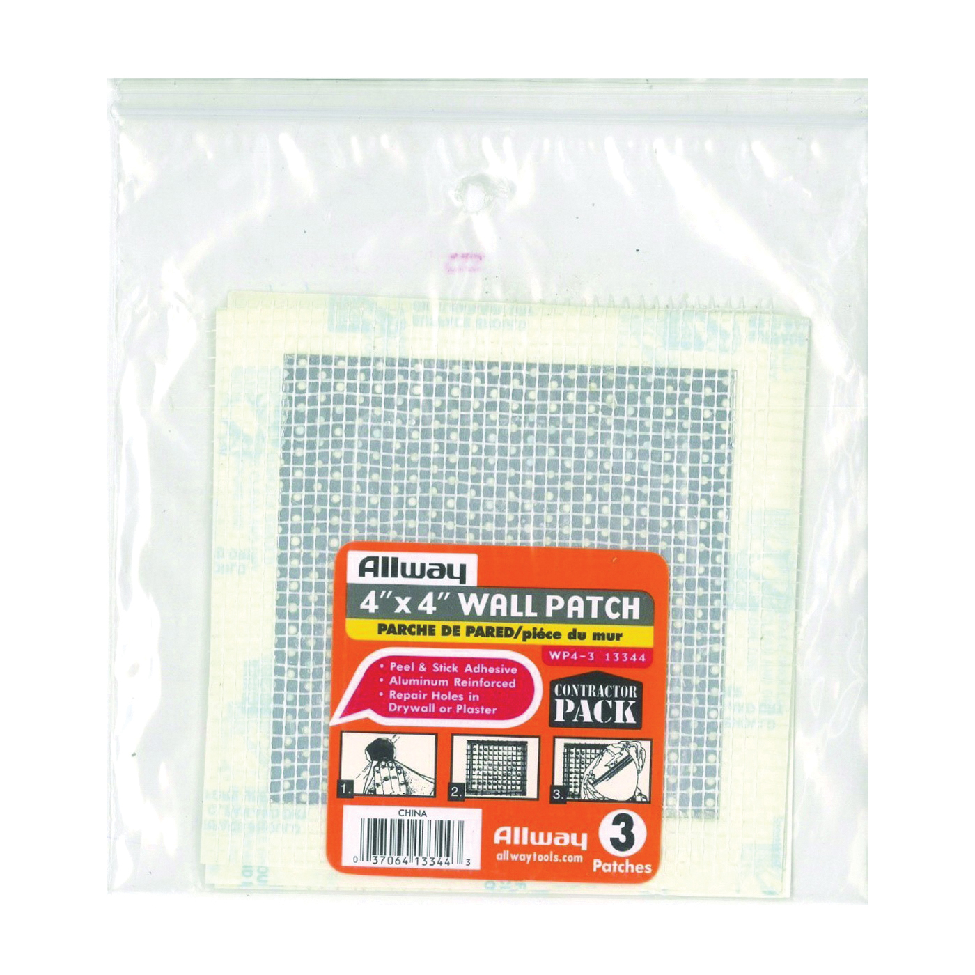 Picture of ALLWAY TOOLS WP4-3 Drywall Patch