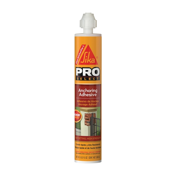 Picture of SIKA AnchorFix-1 Series 112729 Anchoring Adhesive, 10.1 oz Package, Cartridge