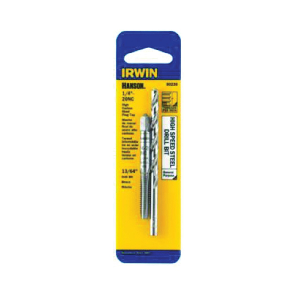 Picture of IRWIN 80230 Tap and Drill Bit Set, HCS/HSS