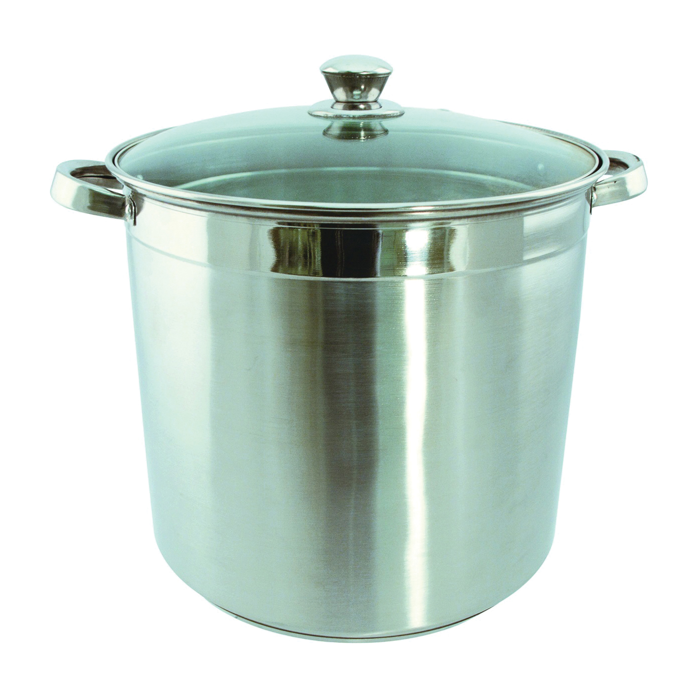 Picture of Euro-Ware 3016 Stock Pot with Lid, 16 qt Capacity, Stainless Steel