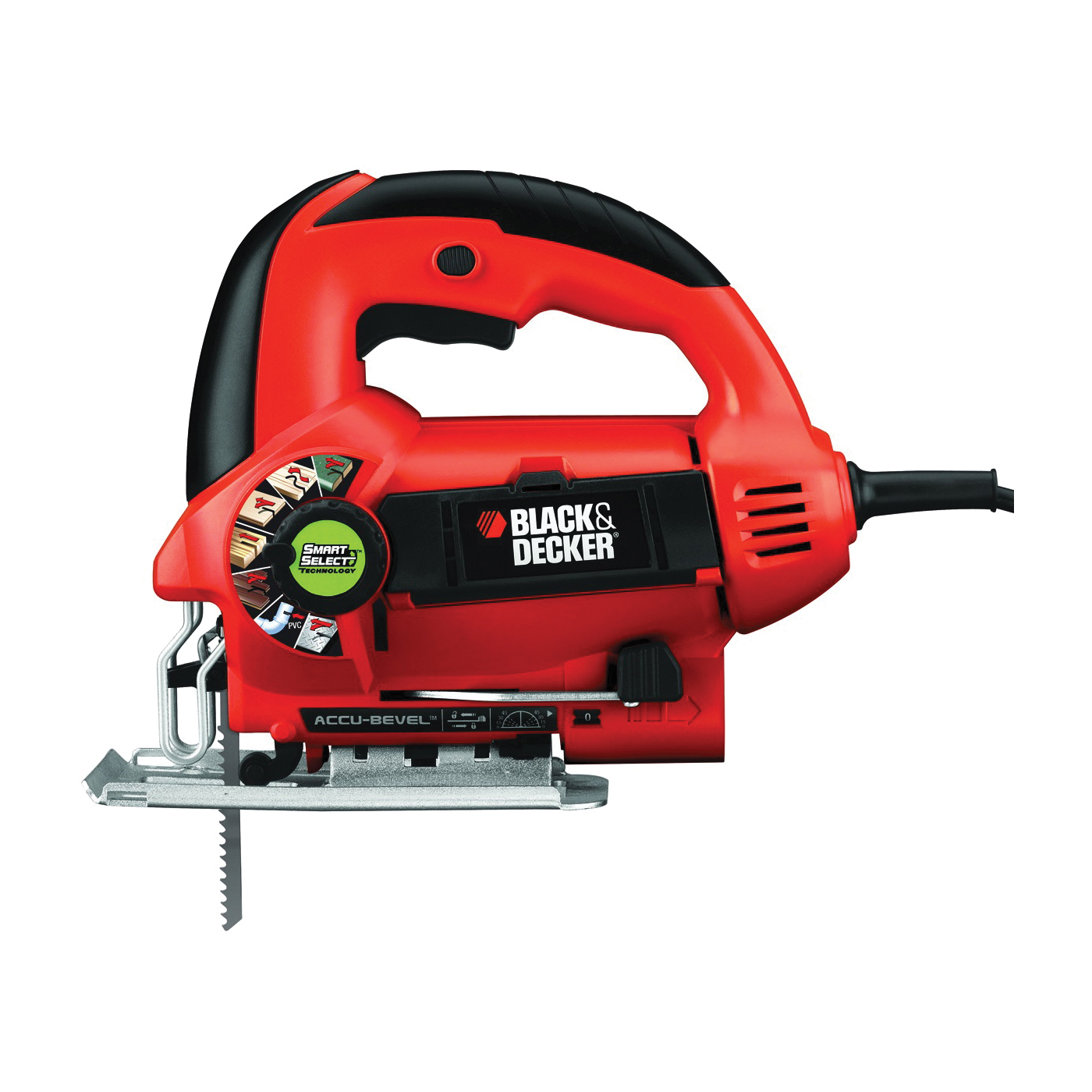 Picture of Black+Decker BDEJS600C Jig Saw, 110 V, 5 A, 3/4 in L Stroke, 3000 spm SPM