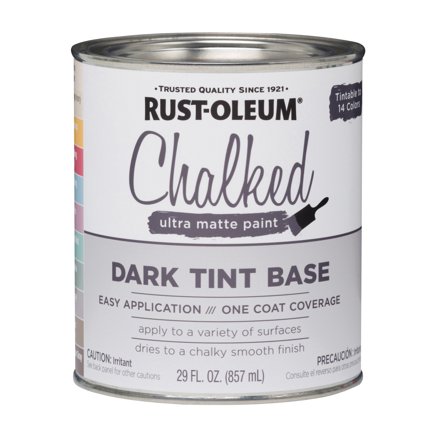 Picture of RUST-OLEUM Chalked 287689 Chalky Paint, Chalked/Ultra Matte, 30 oz, Pint