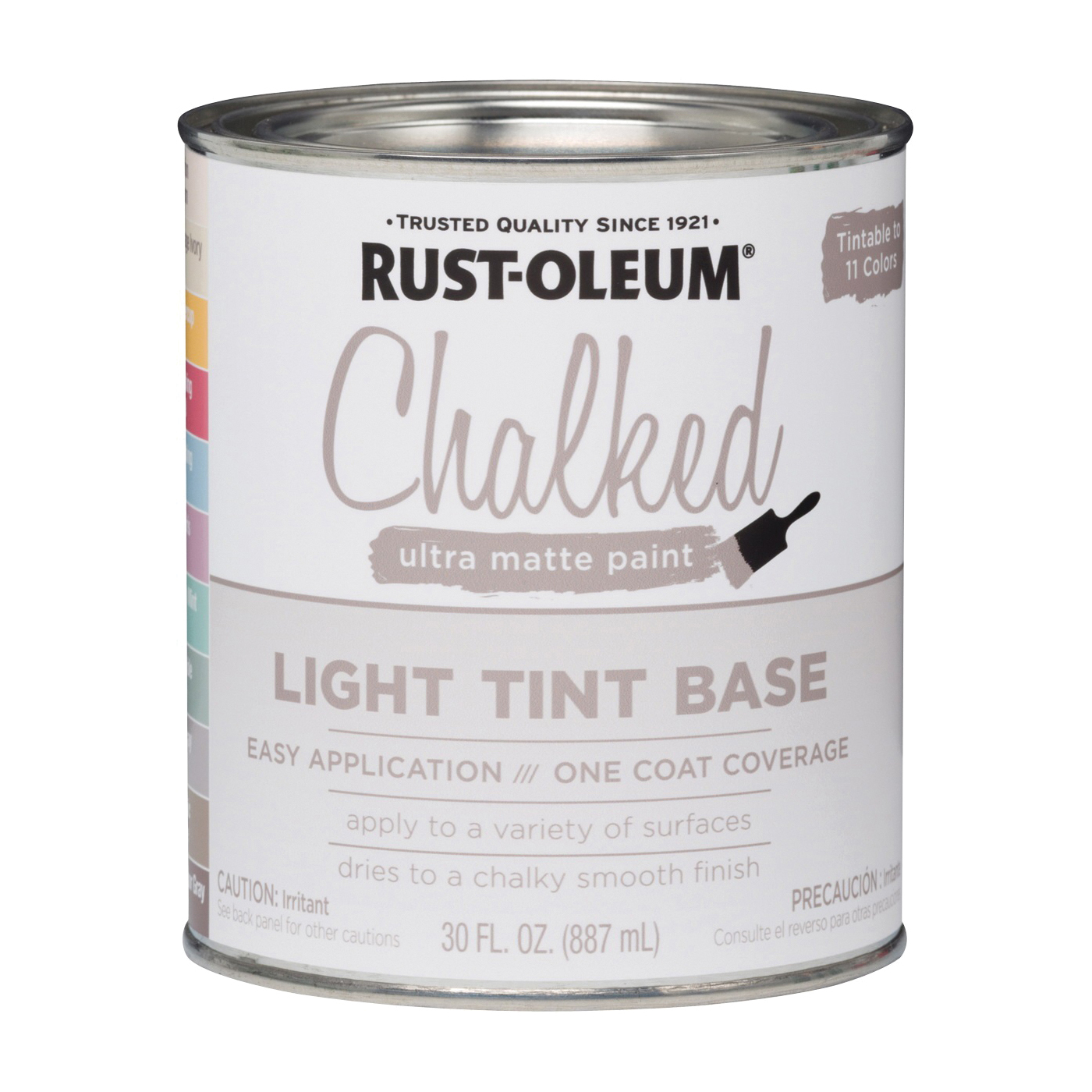 Picture of RUST-OLEUM Chalked 287688 Chalky Paint, Chalked/Ultra Matte, 30 oz, Pint