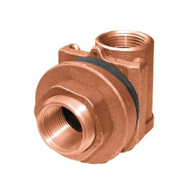 Picture of Simmons 1840SB Pitless Adapter, 1 in, Silicone Bronze