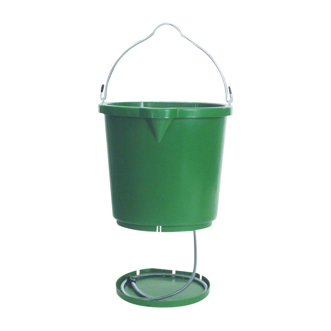 Picture of FARM INNOVATORS FB120 Heated Bucket, Polyethylene, Green