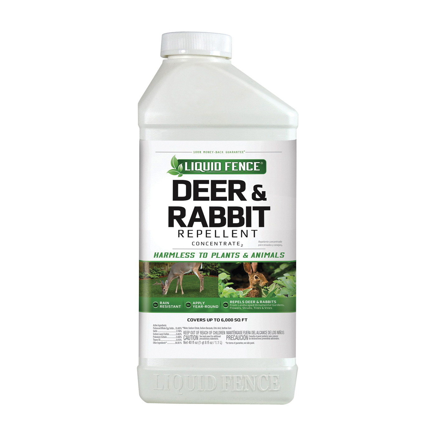 Picture of LIQUID FENCE 71136-1 Deer and Rabbit Repellent, Concentrate