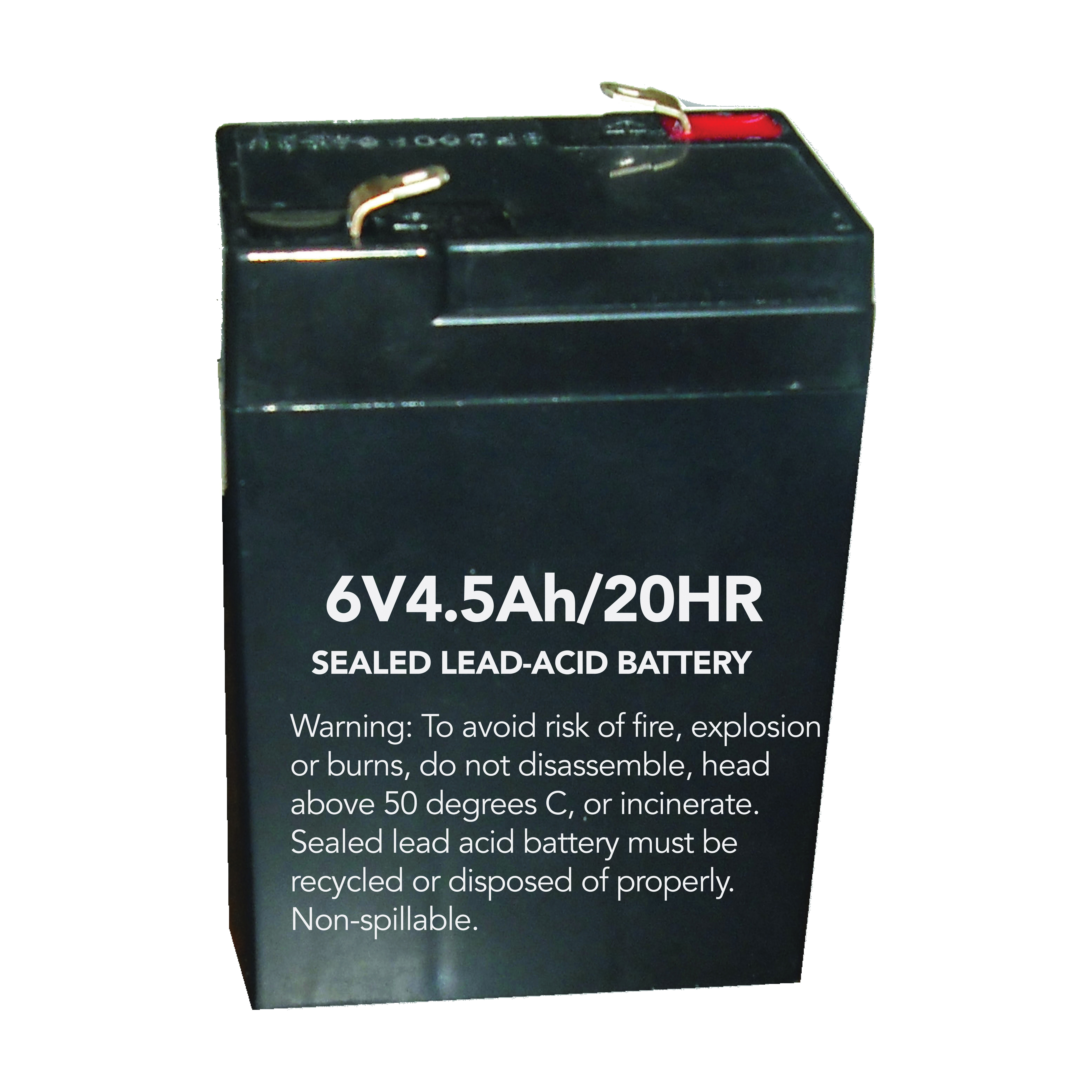 Picture of HOWARD LIGHTING HL0202-BATT Rechargeable Battery, Replacement, For: Exit Sign