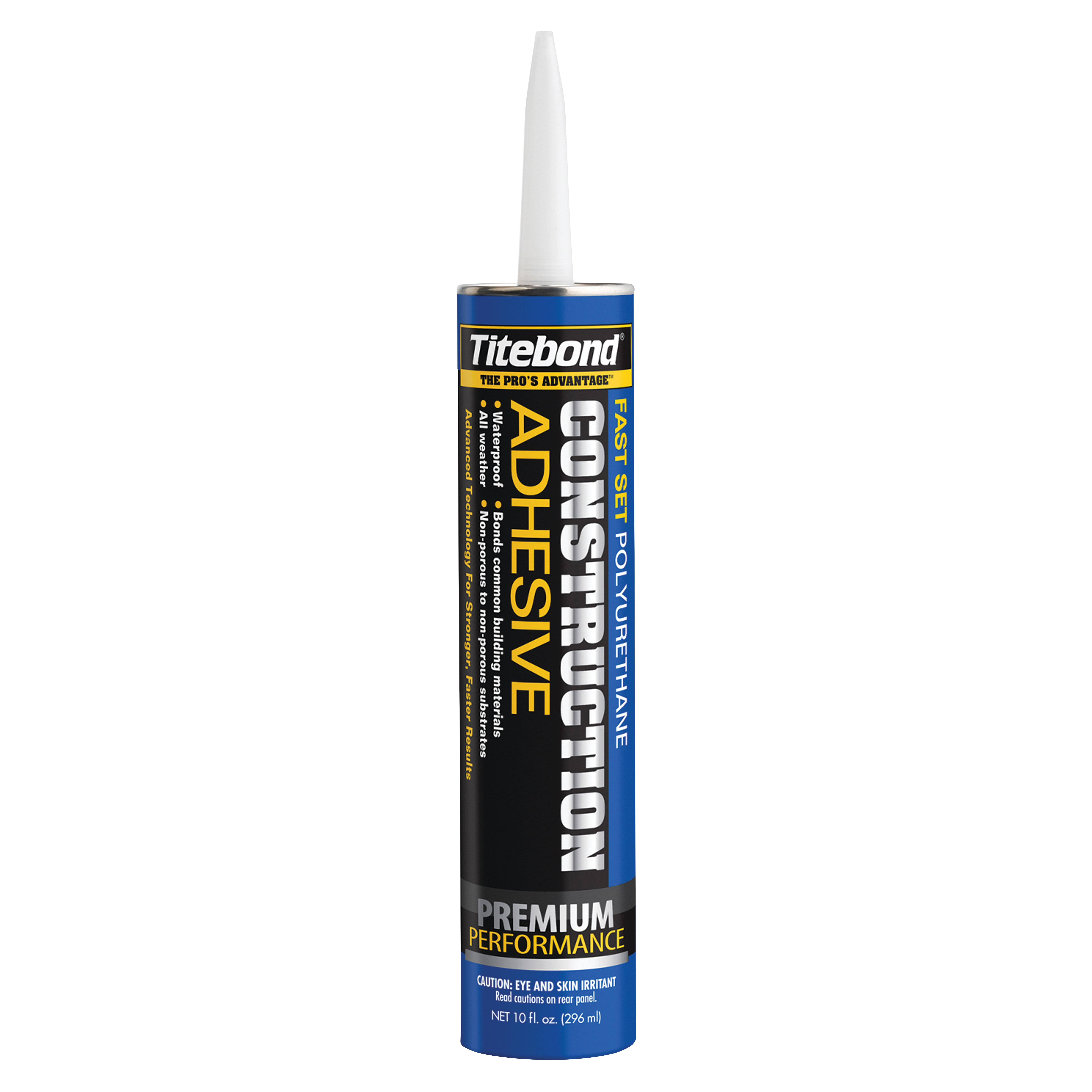 Picture of Titebond 4221 Construction Adhesive, Brown, 10 oz Package, Cartridge