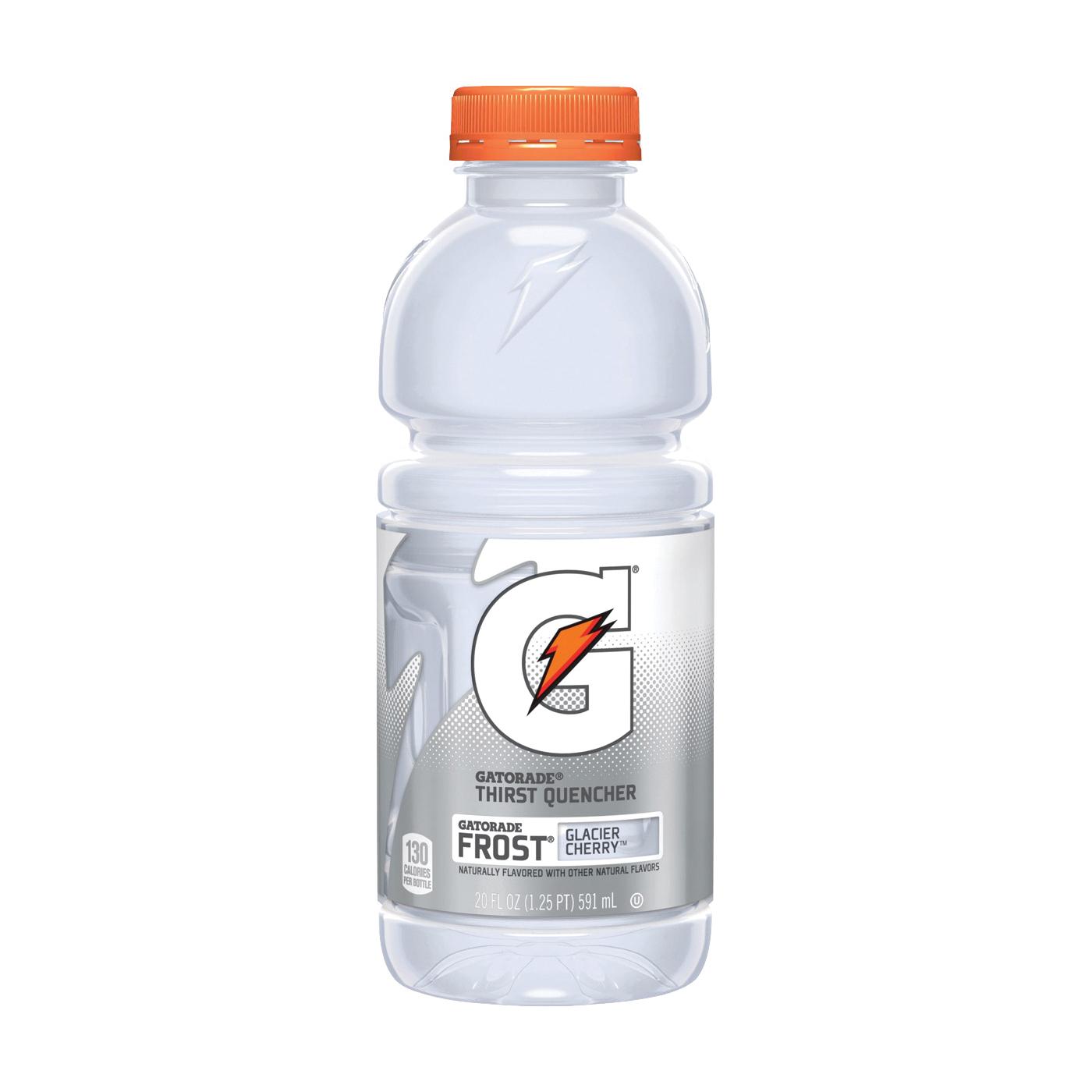 Picture of Gatorade G 10247 Sports Drink, Liquid, Glacier Cherry Flavor, 20 oz Package, Bottle