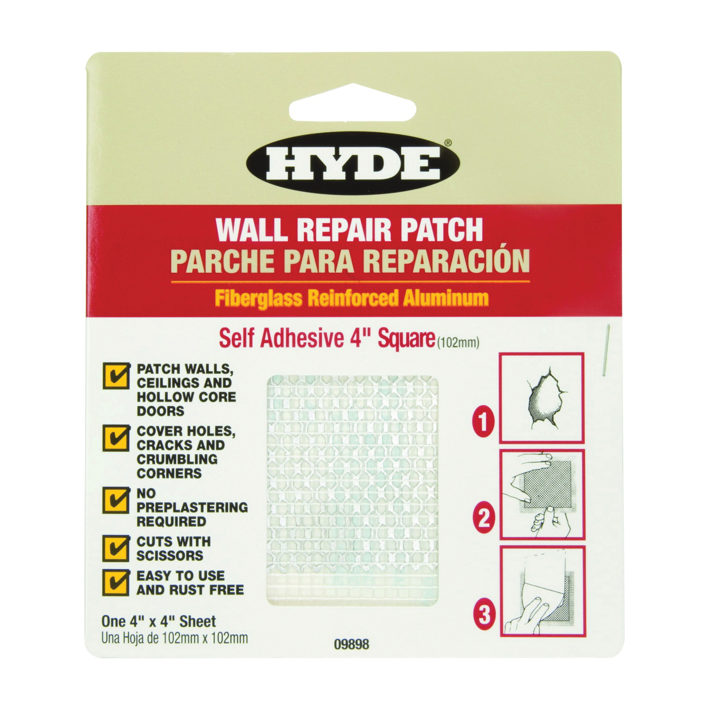 Picture of HYDE 09898 Wall Patch
