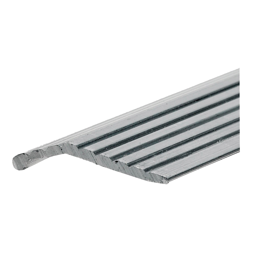 Picture of Frost King H113FS/6 Carpet Bar, 6 ft L, 1 in W, Fluted Surface, Aluminum, Silver, Satin