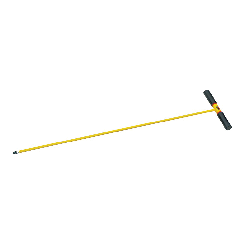 Picture of Seymour S600 Series 85465 Soil Probe Utility Tool, Fiberglass, Yellow, T-Cushion-Grip Handle