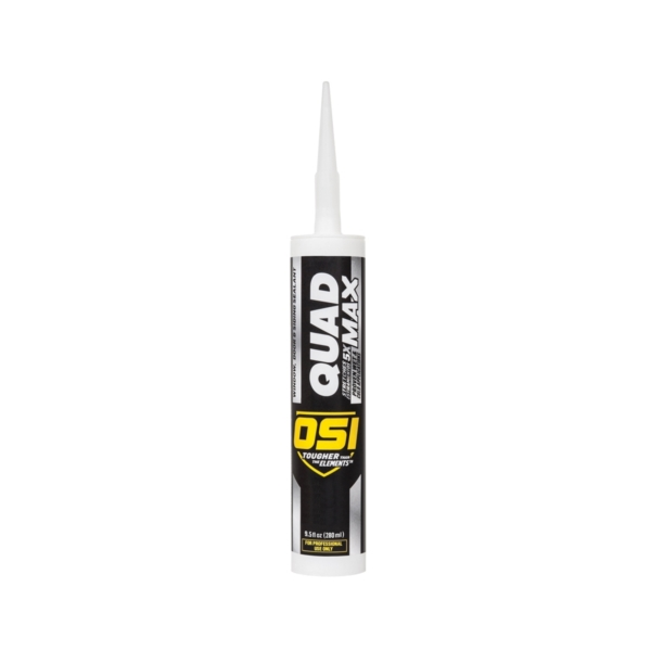 Picture of OSI QUAD MAX 1869460 Sealant, Gray, -14 to 158 deg F, 9.5 oz Package, Cartridge