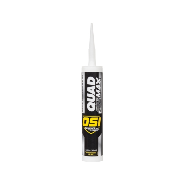Picture of OSI QUAD MAX 1869371 Sealant, Beige, -14 to 158 deg F, 9.5 oz Package, Cartridge