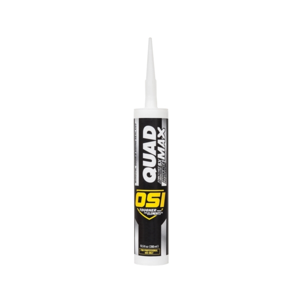 Picture of OSI QUAD MAX 1869643 Sealant, Gray, -14 to 158 deg F, 9.5 oz Package, Cartridge