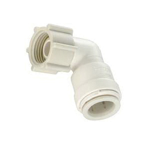 Picture of Watts 3520-1012/P-637 Swivel Elbow, 1/2 in, 3/4 in, 90 deg, Off-White