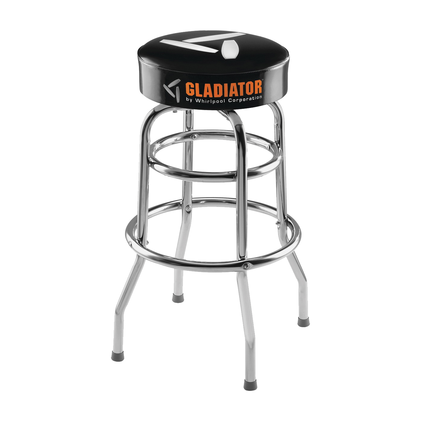Picture of GLADIATOR GAAC30STJB Workbench Stool, 15 in OAW, 30 in OAH, 300 lb Capacity, Black
