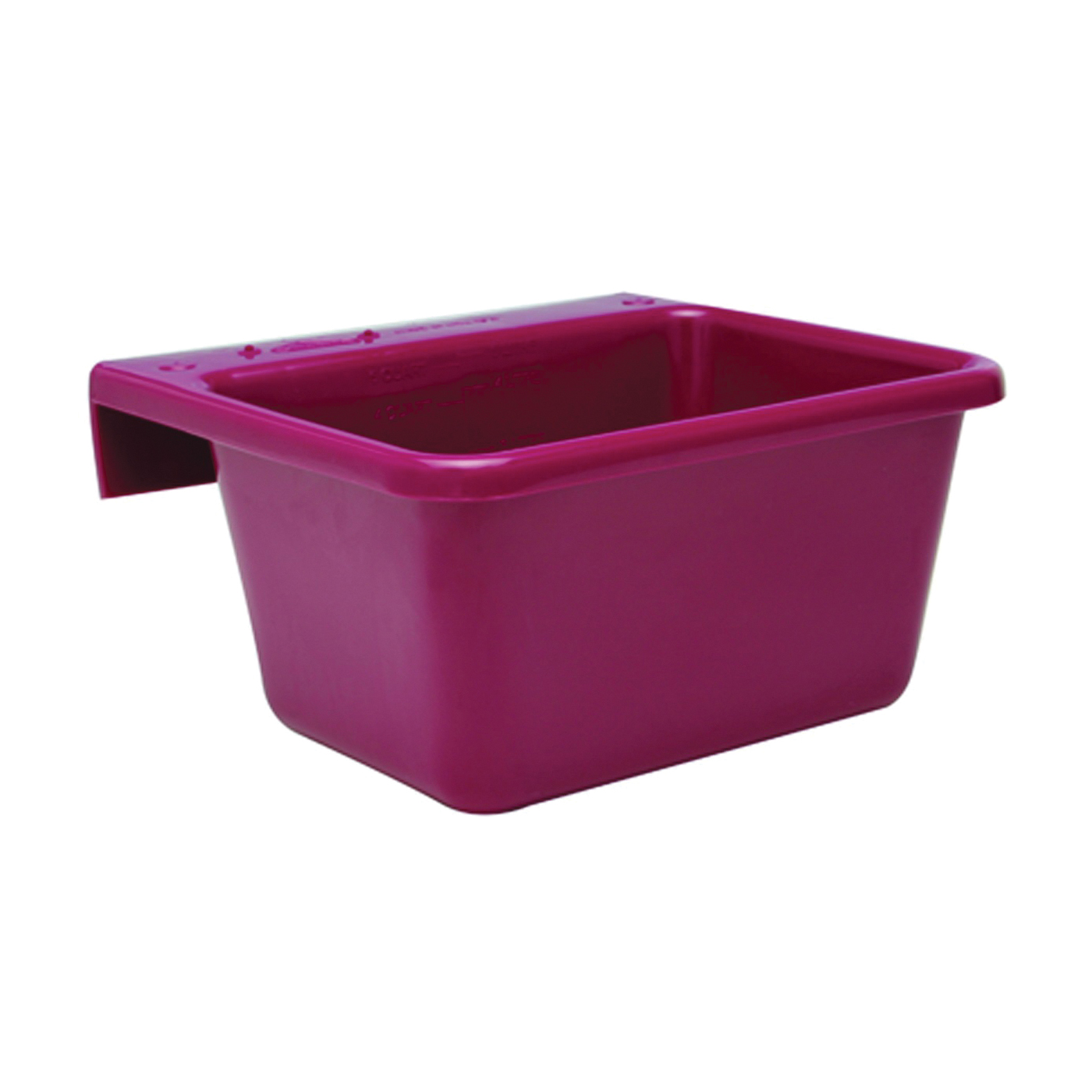 Picture of FORTEX-FORTIFLEX 1306602 Pet Feeder, S, 5 qt Volume, Red