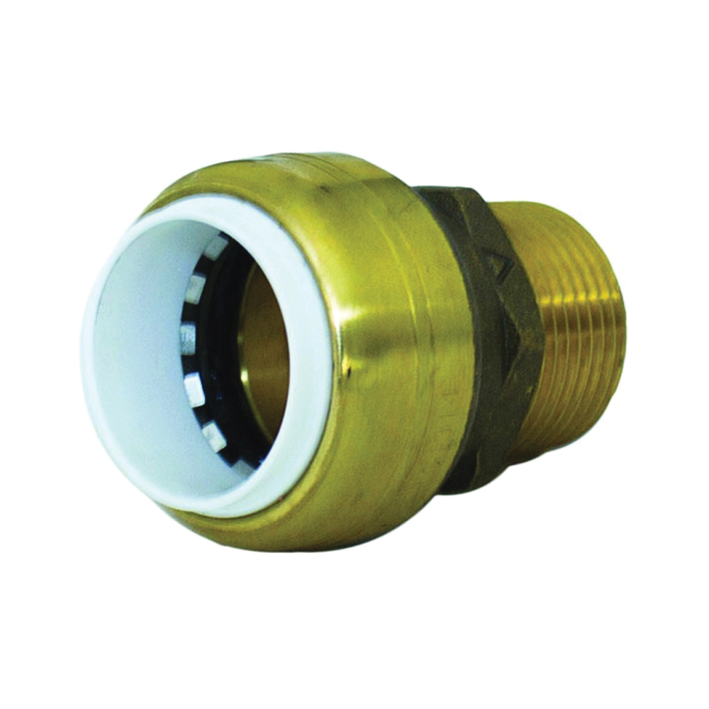Picture of SharkBite UIP140A Connector, 1 in Push-Fit, 1 in MNPT
