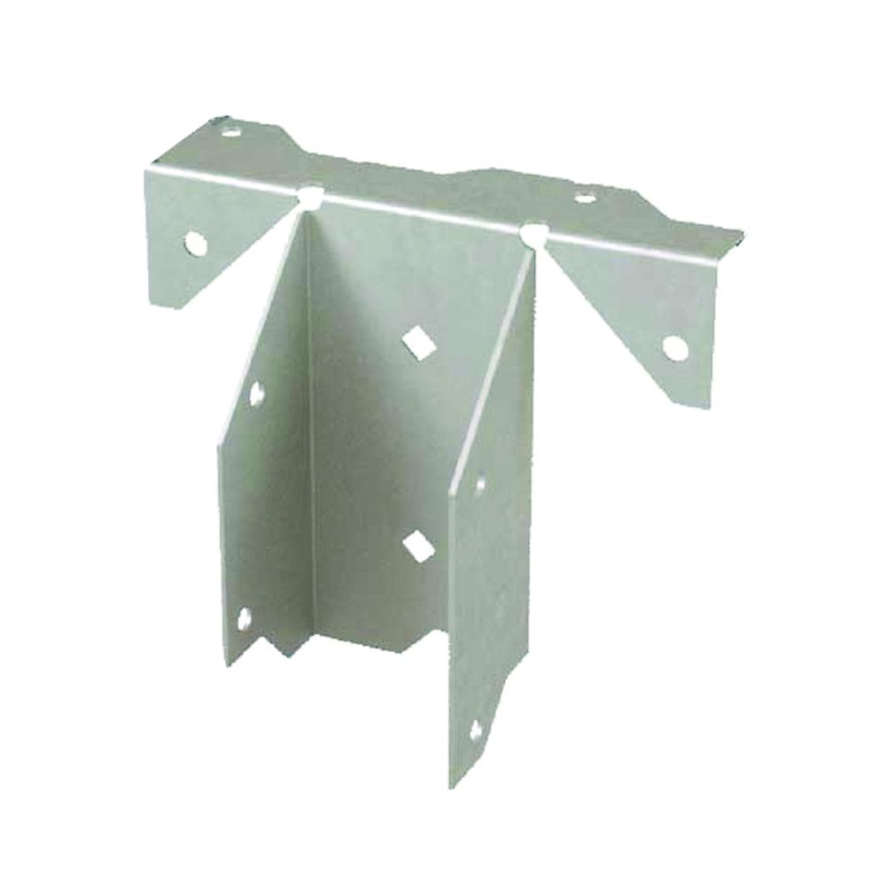 Picture of MiTek RR Ridge Rafter Hanger, 3-3/8 in H, Steel, G90 Galvanized