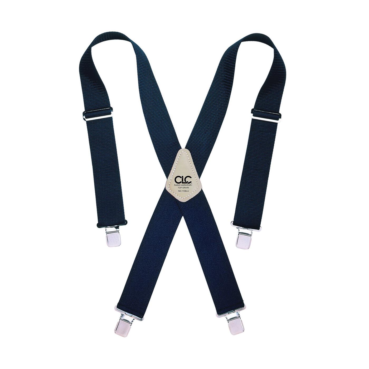 Picture of CLC Tool Works 110BLU Work Suspender, Nylon, Blue