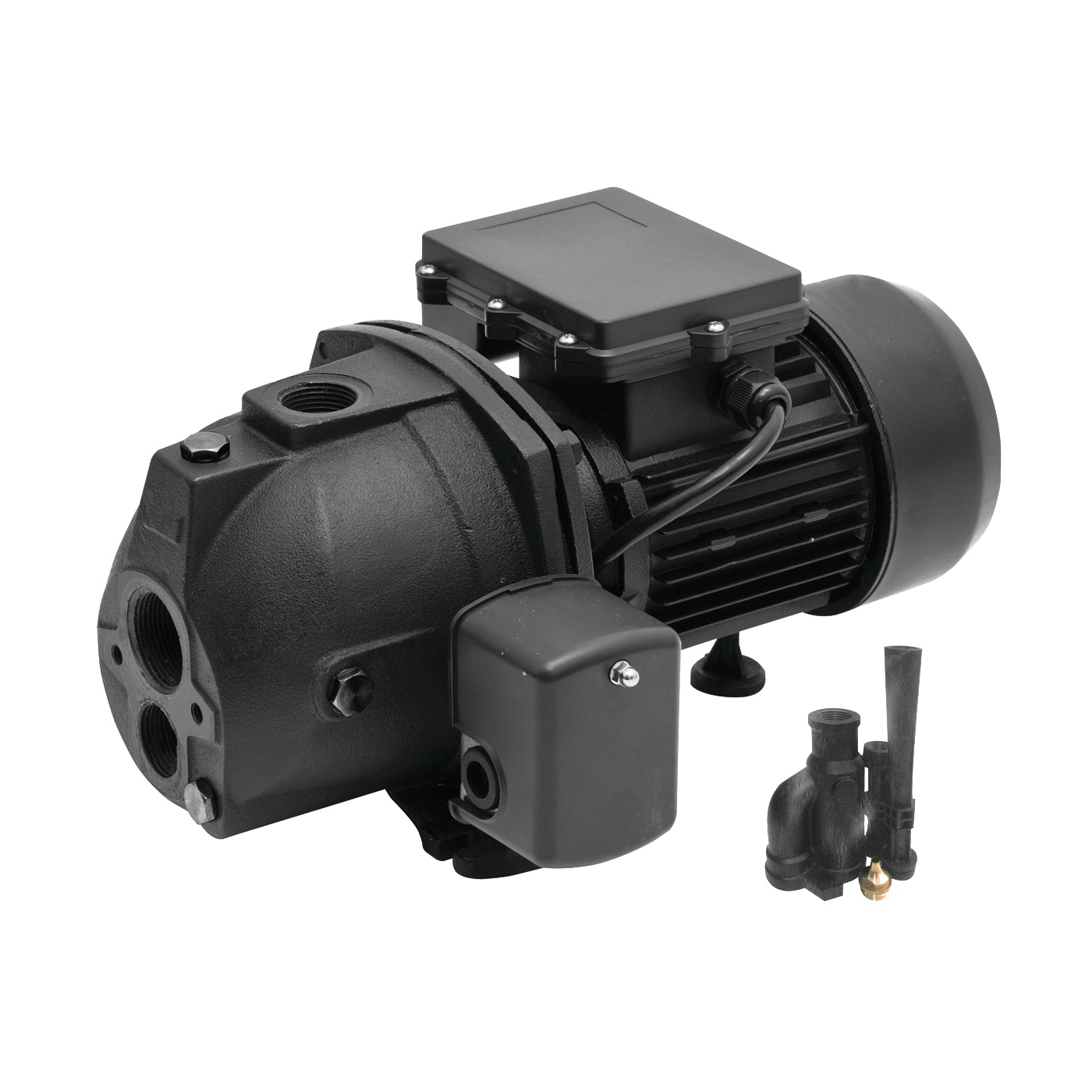 Picture of SUPERIOR PUMP 94515 Jet Pump, 6.4/3.2 A, 115/230 V, 0.5 hp, 1-1/4 in Suction, 1 in Discharge Connection, 9.9 gpm
