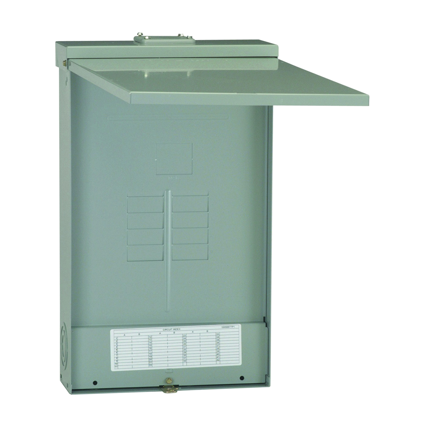 Picture of GE Industrial Solutions PowerMark Gold TLM Series TLM812RCU2P Load Center, 125 A, 8-Space, 12-Circuit, Main Lug
