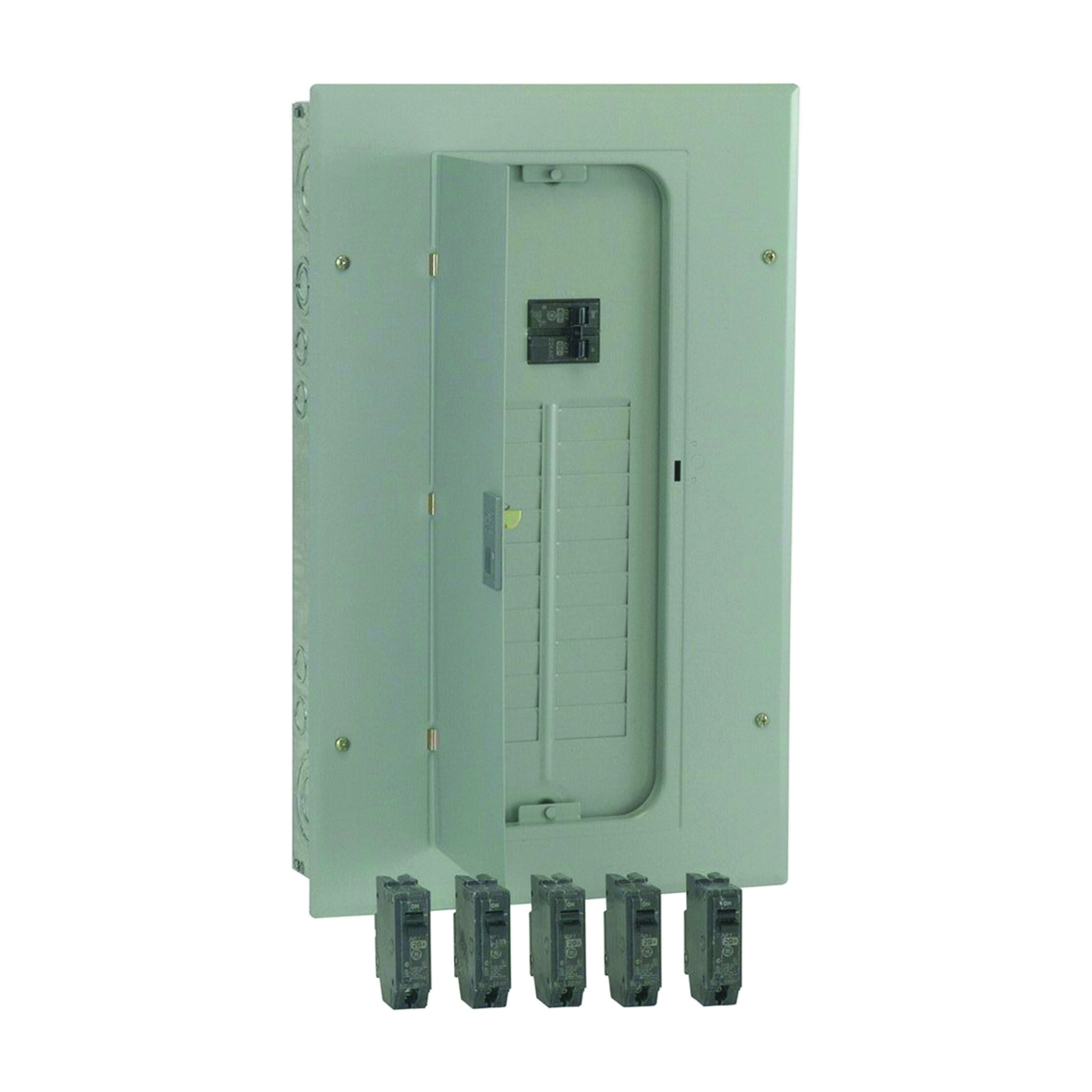 Picture of GE Industrial Solutions PowerMark Gold TM Series TM2010CCU2K Load Center Pack, 100 A, 20-Space, 20-Circuit