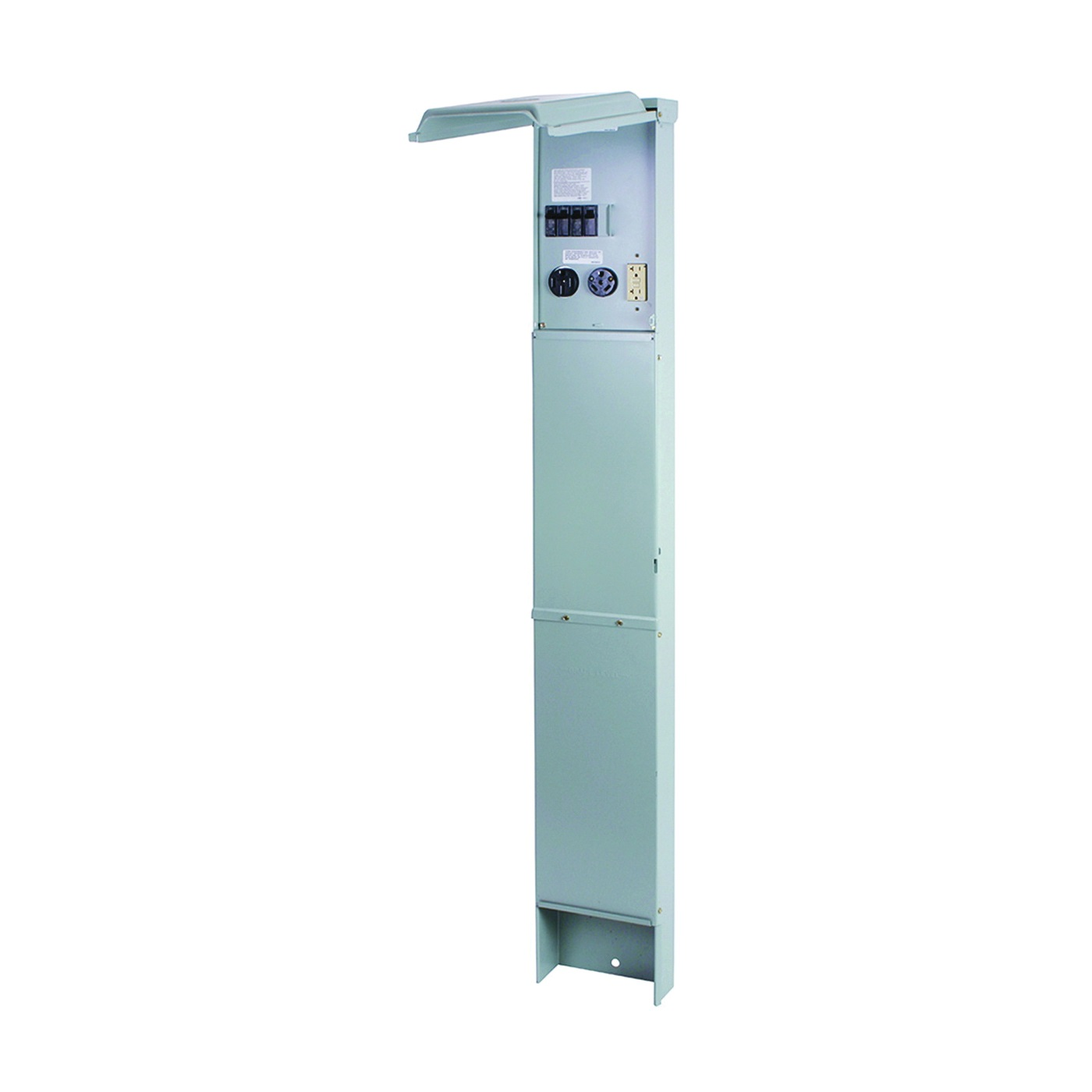 Picture of GE Industrial Solutions GE1LU532ES Unmetered Earth Burial Pedestal, 100 A, 120, 240 V, Plug-In Mounting