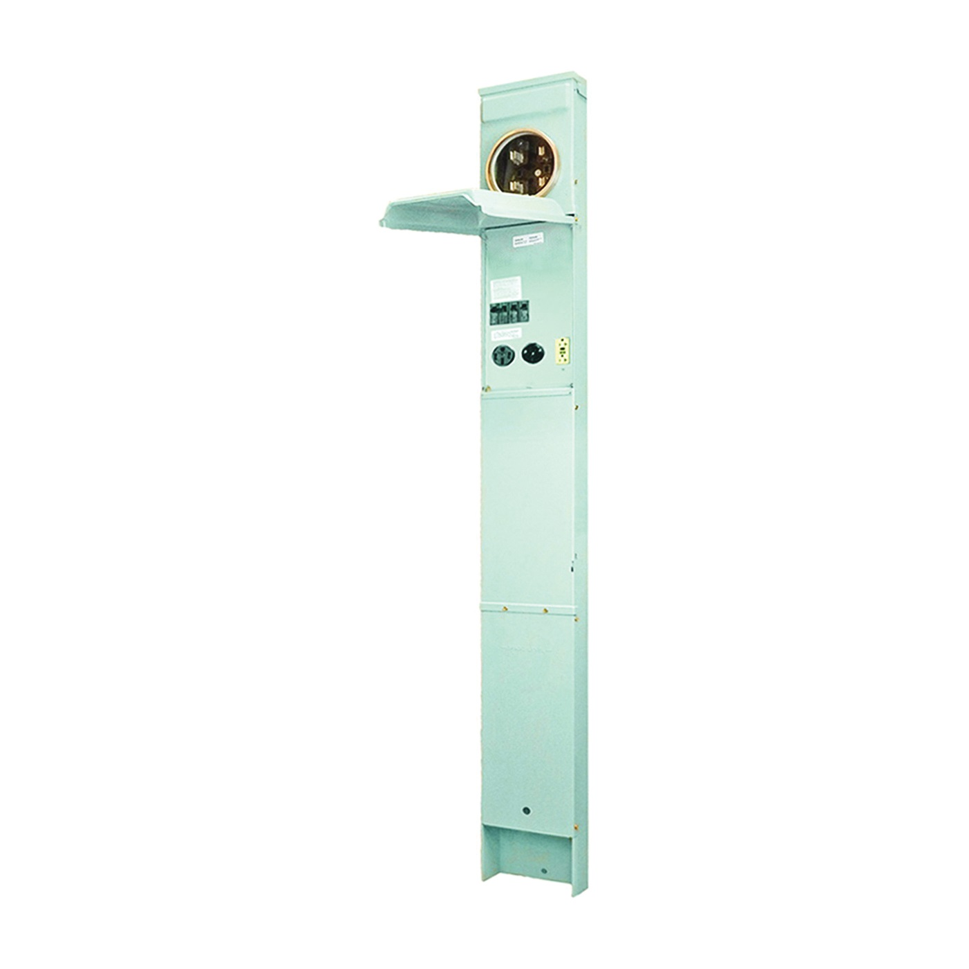 Picture of GE Industrial Solutions GE1LM532ES Metered Earth Burial Pedestal, 100 A, 120, 240 V, Plug-In Mounting