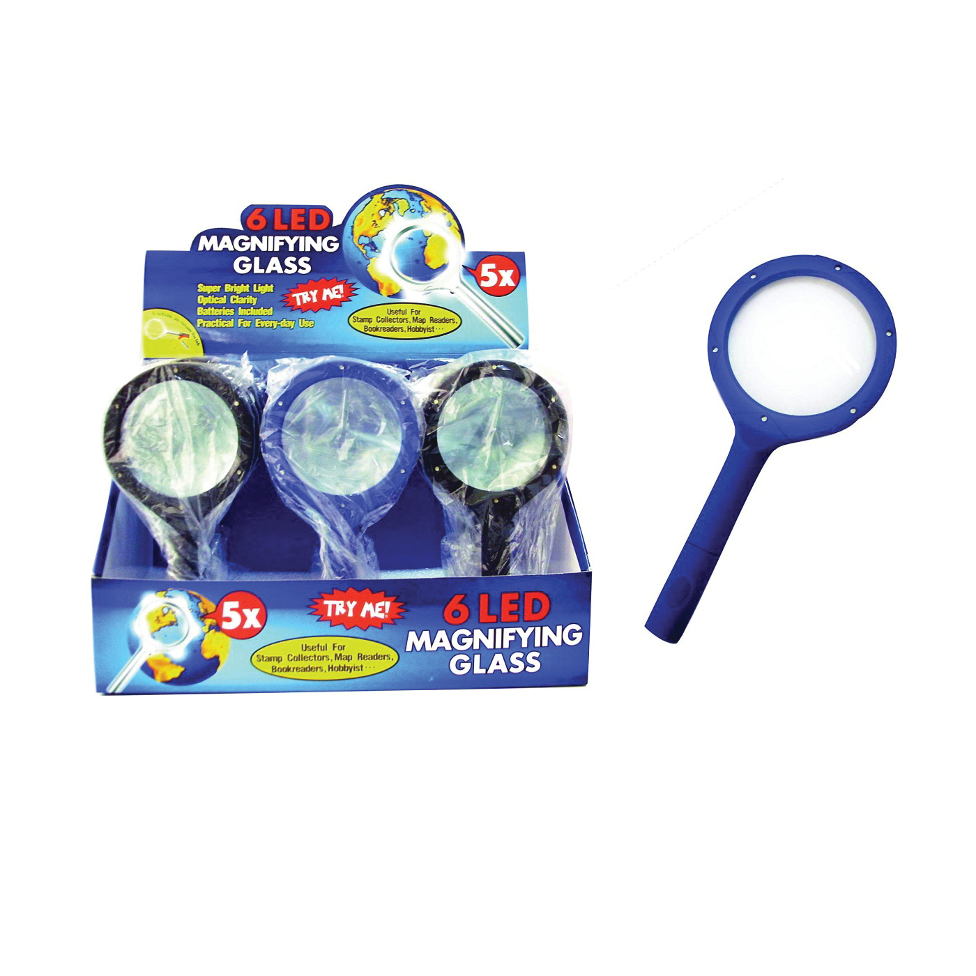 Picture of Diamond Visions 08-0260 Magnifying Glass, 5X Magnification