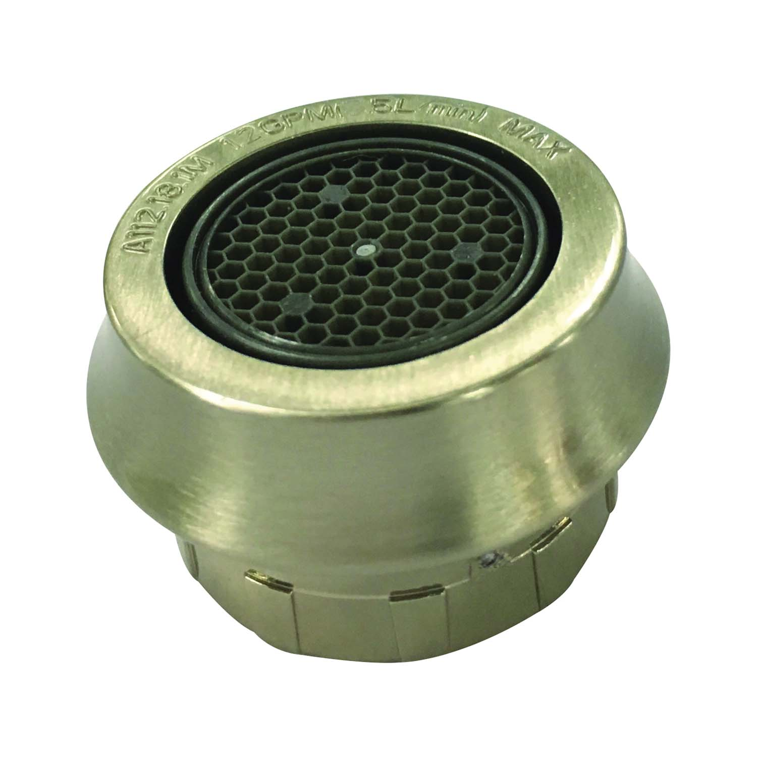 Picture of Boston Harbor A500157NNP-51 Faucet Aerator, 55/64-27, Female, Brushed Nickel, 1.2 gpm