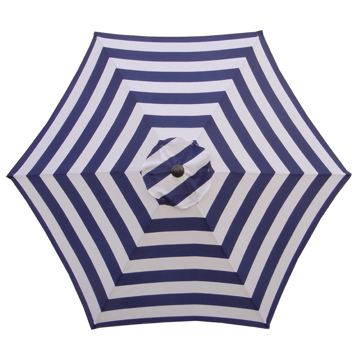 Picture of Seasonal Trends UM90BKOBD18/WT Umbrella, 2.5m/98.43 in H, 8.9 ft ft W Canopy, 8.9 ft ft L Canopy, Round Canopy