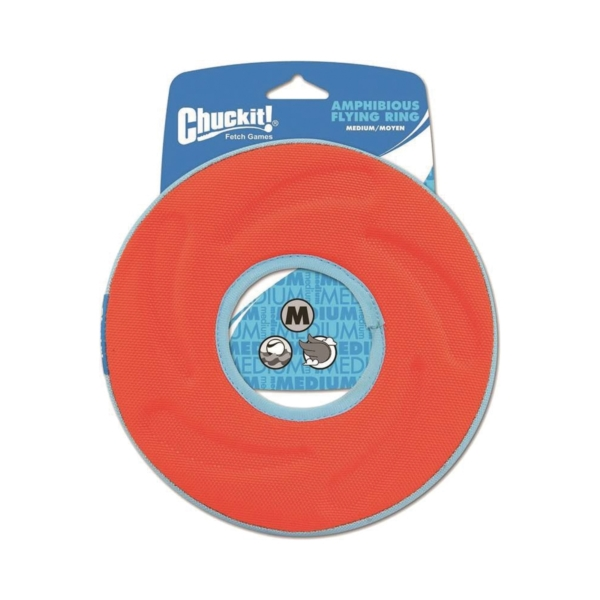 Picture of Chuckit! 18100 Fetch Toy, M, Polyester, Assorted