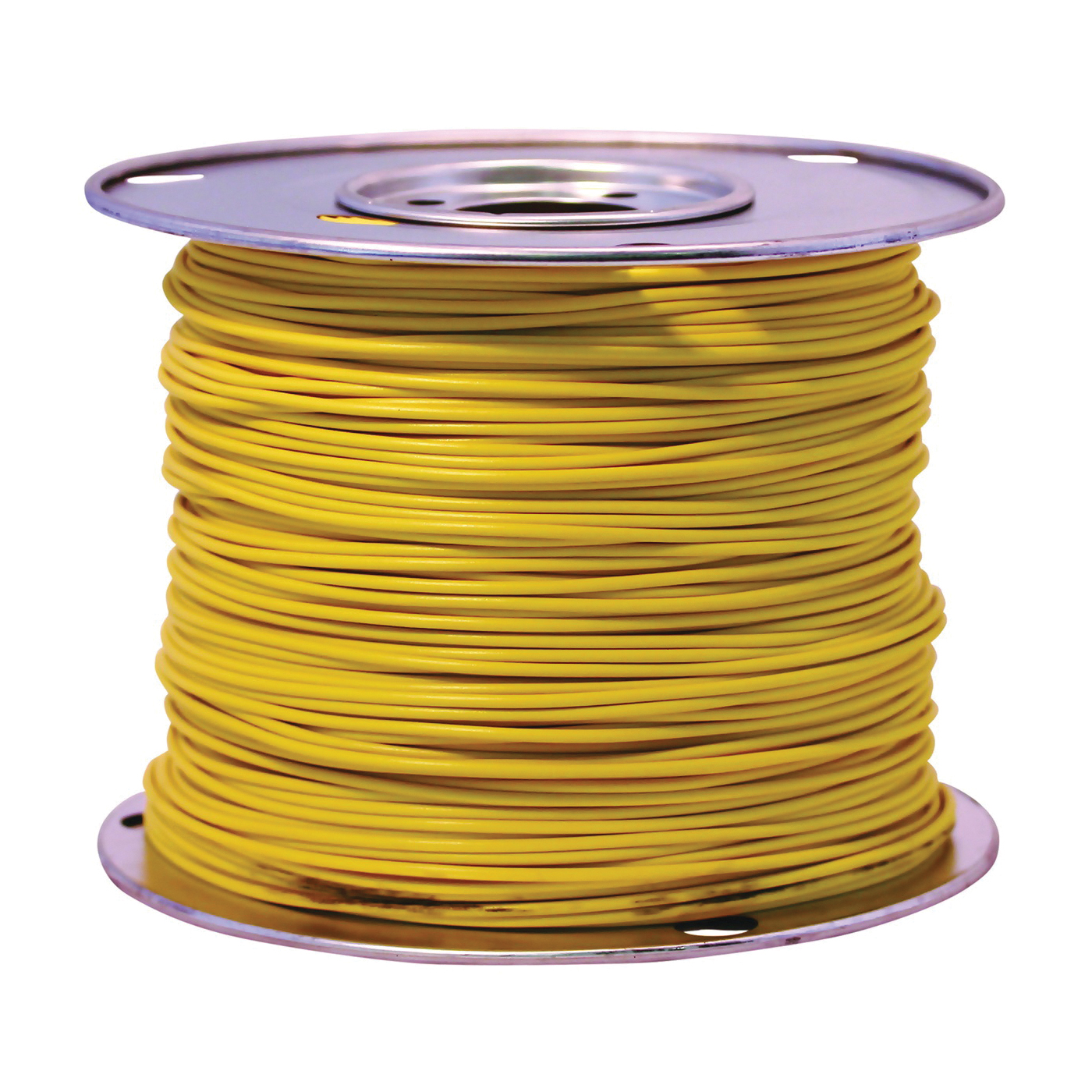 Picture of CCI 55670823 Primary Wire, 14 AWG Wire, 1 -Conductor, 60 VDC, Stranded Copper Conductor, Yellow Sheath