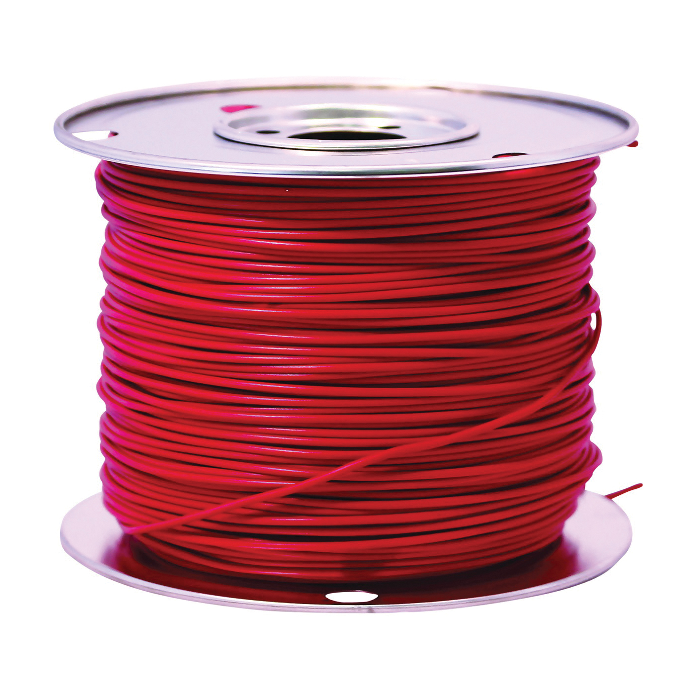 Picture of CCI 55669123 Primary Wire, 14 AWG Wire, 1 -Conductor, 60 VDC, Copper Conductor, Red Sheath