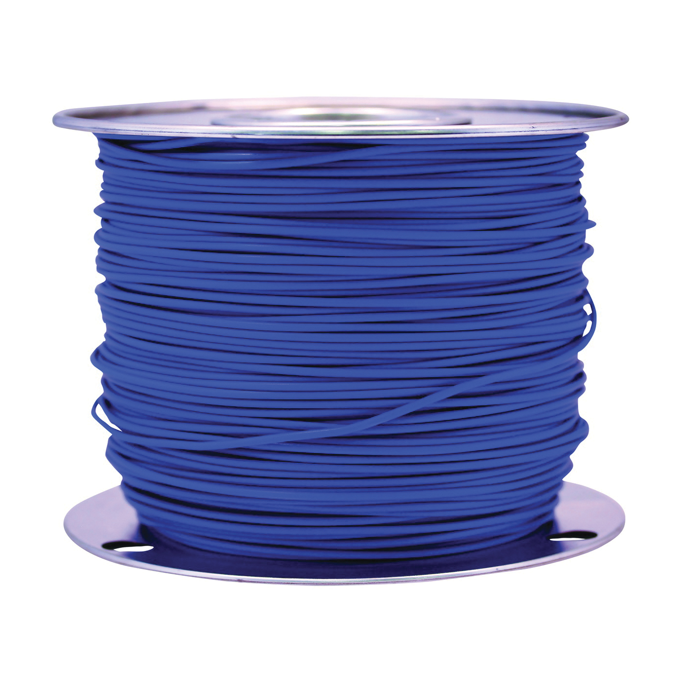 Picture of CCI 55879923 Primary Wire, 10 AWG Wire, 1 -Conductor, 60 VDC, Stranded Copper Conductor, Blue Sheath
