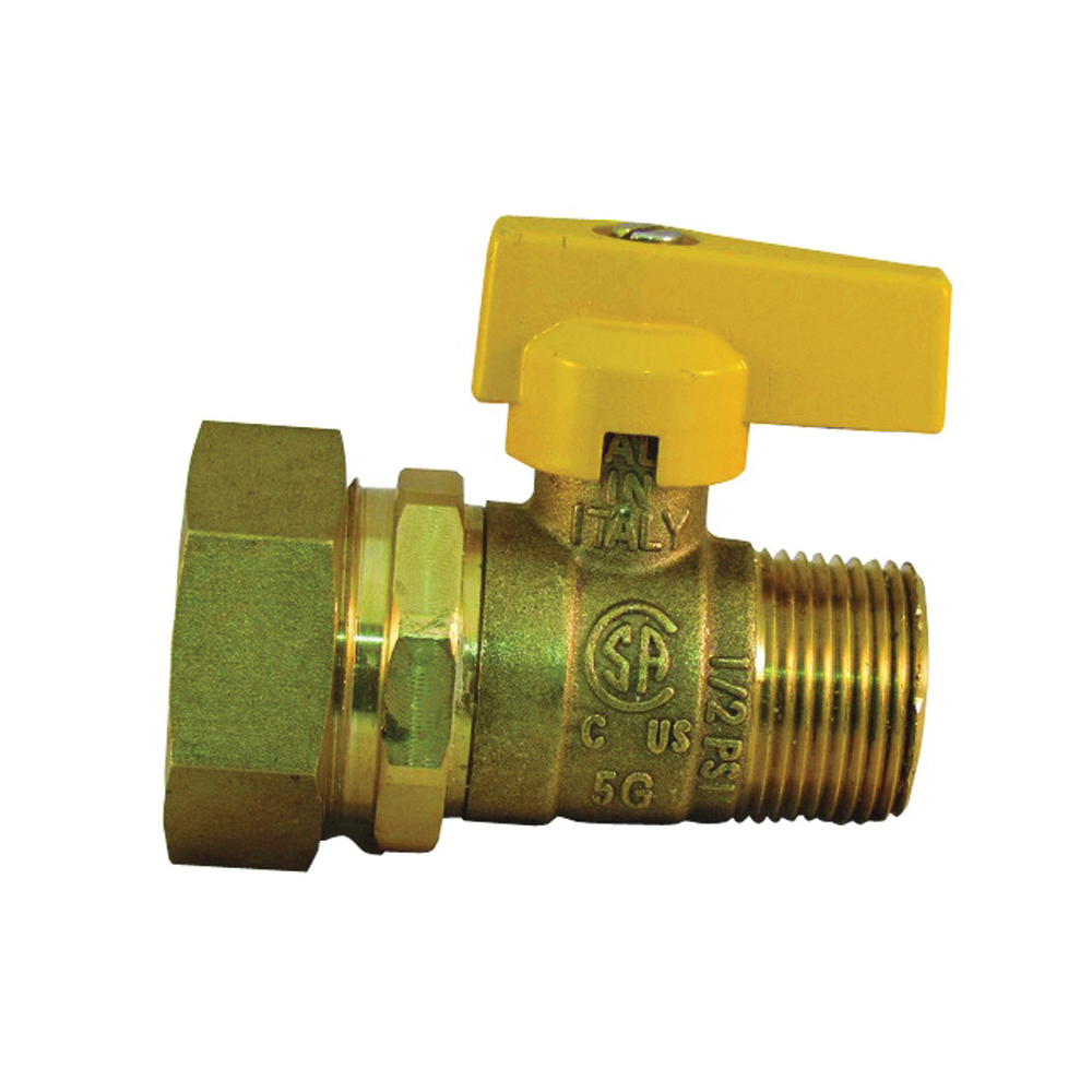 Picture of PRO-FLEX PFGV-PF34MB Gas Valve, 3/4 in Connection, MIP x CSST