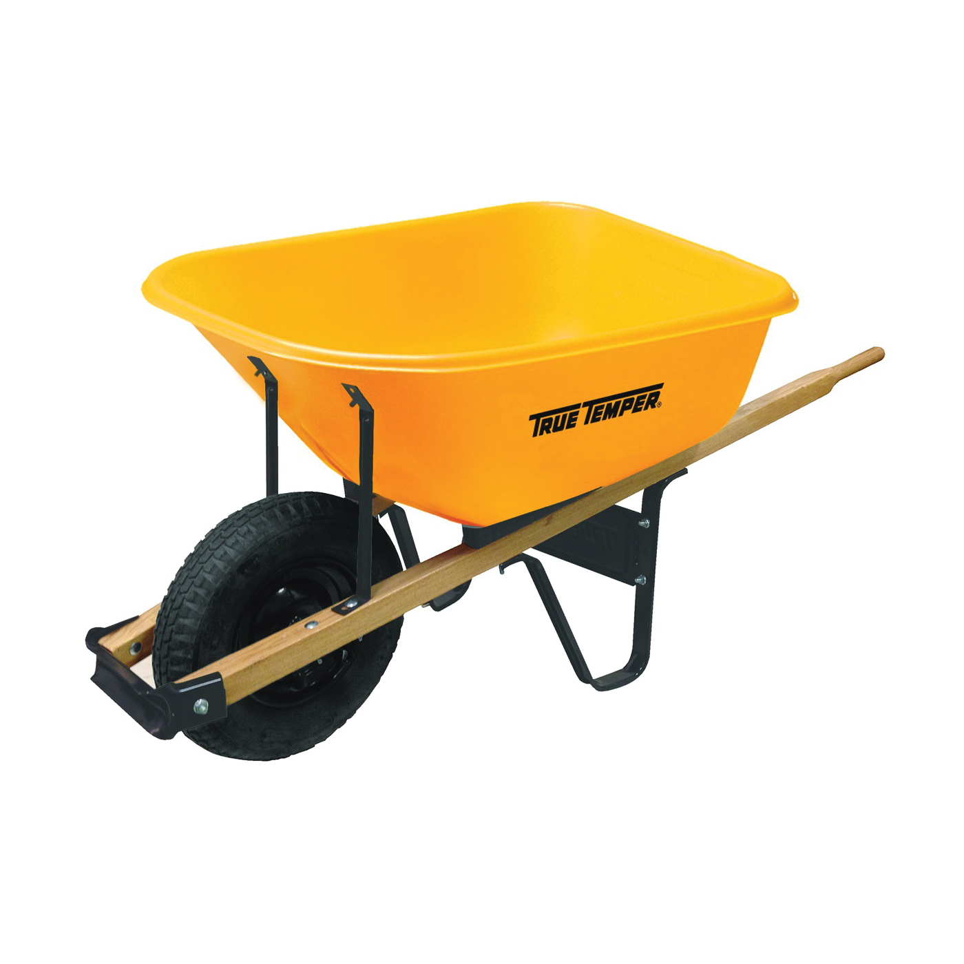 Picture of TRUE TEMPER 009970VB Wheelbarrow Tray, 6 cu-ft Capacity, Poly