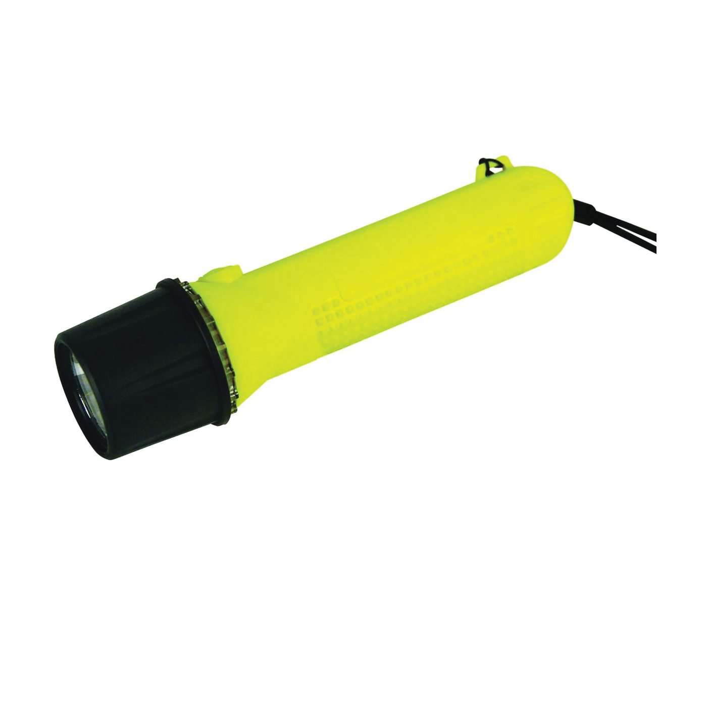 Picture of Dorcy 41-0093 Flashlight, AA Battery, Alkaline Battery, LED Lamp, 65 Lumens, 130 m Beam Distance, 14 hr Run Time