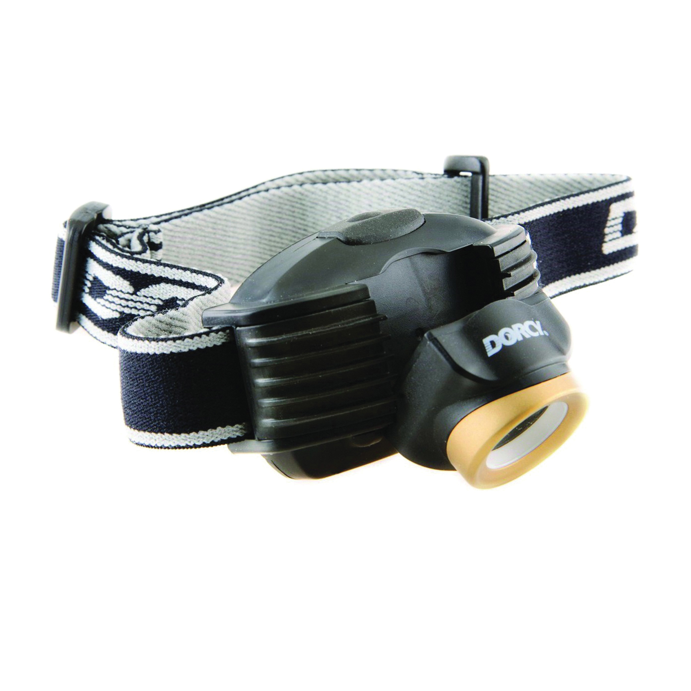 Picture of Dorcy 41-2097 Headlight, AAA Battery, LED Lamp, 214 Lumens, 142 m Beam Distance, 4 hr 15 min Run Time