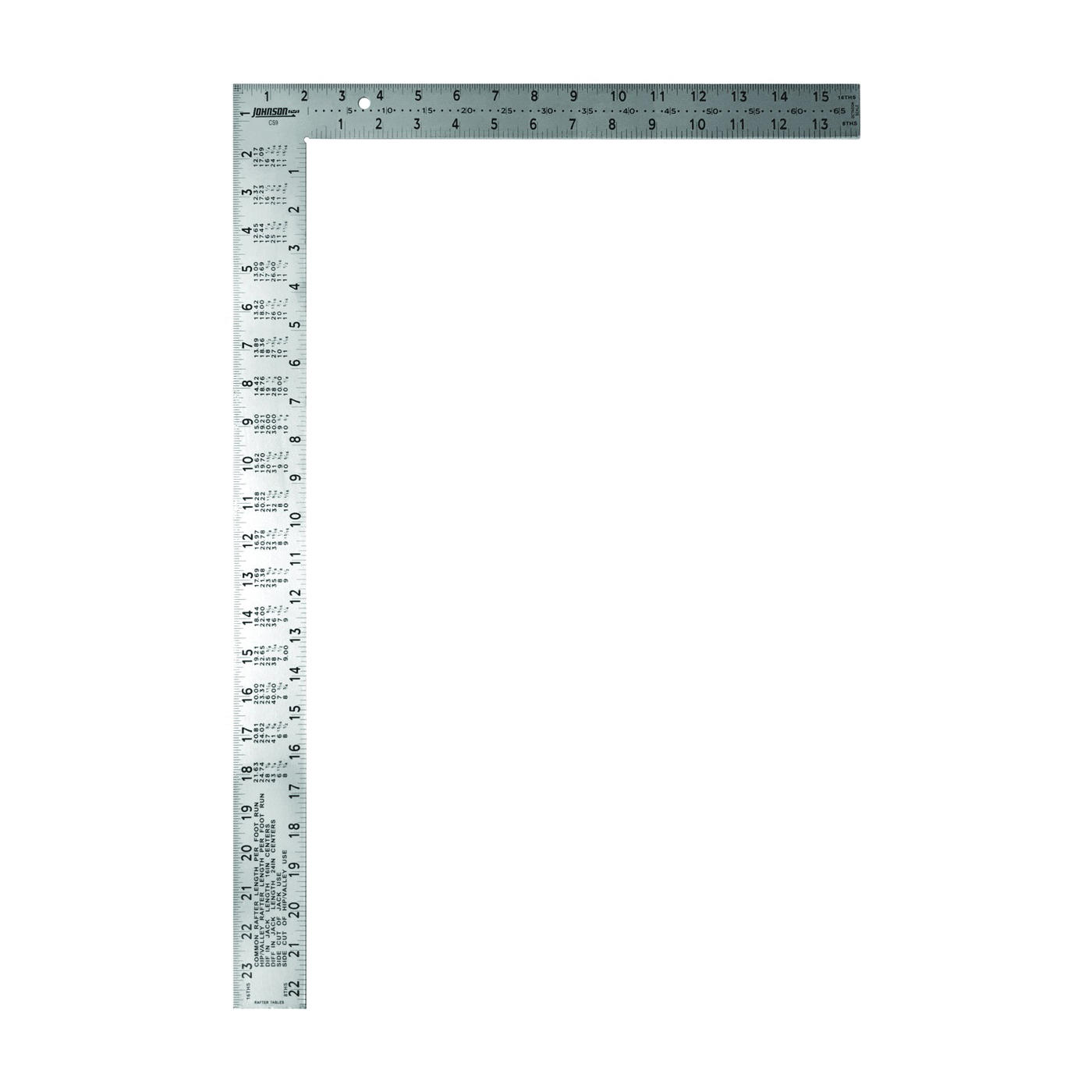 Picture of Johnson Easy-Read CS9 Framing Square, Steel