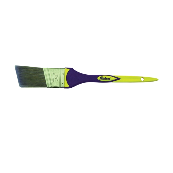 Picture of HYDE Richard Connoisseur Elegance 80840 Paint Brush, Polyester Bristle, Soft-Grip Handle