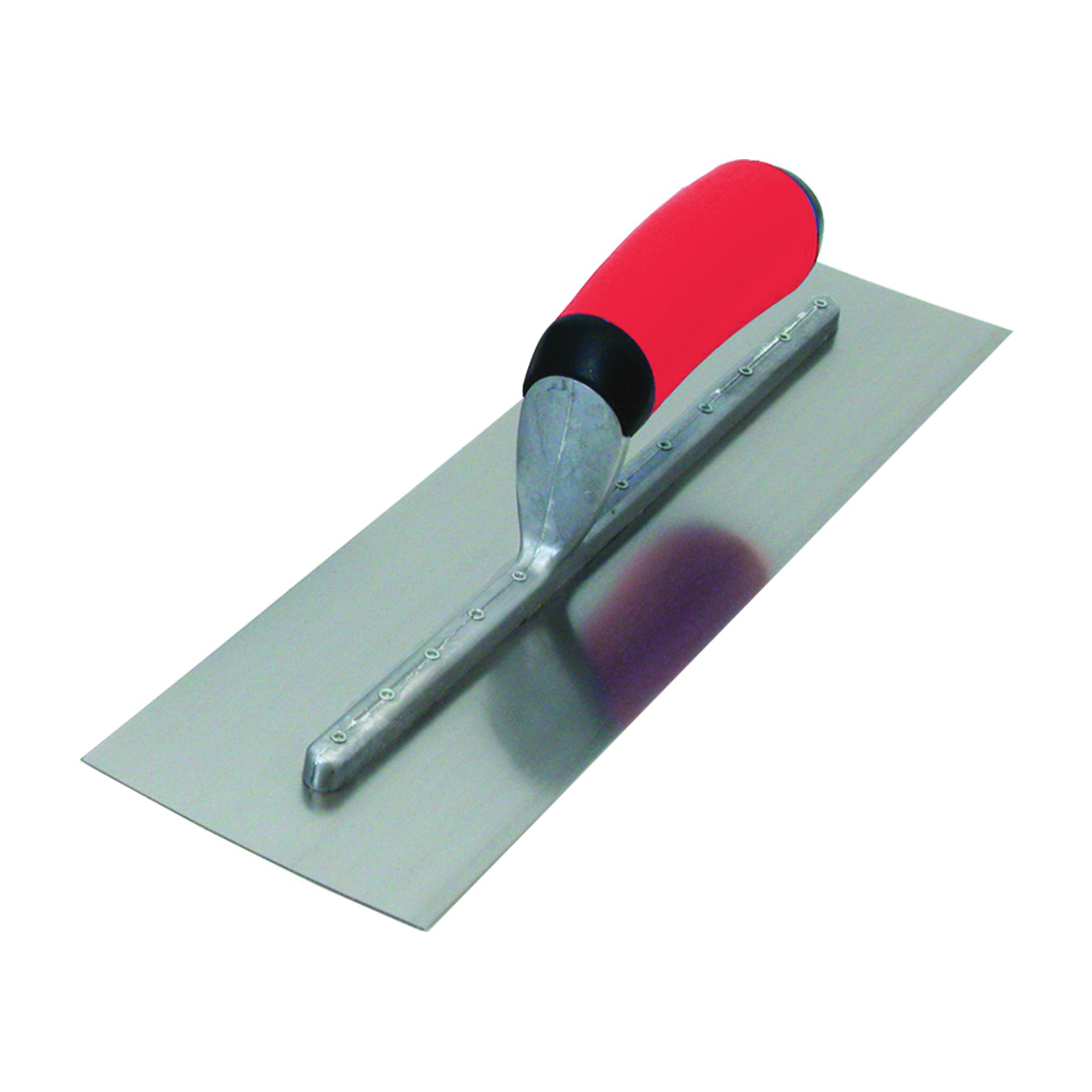 Picture of Marshalltown FT374R Finishing Trowel, 16 in L Blade, 4 in W Blade, Steel Blade, Comfort Grip, Curved Handle