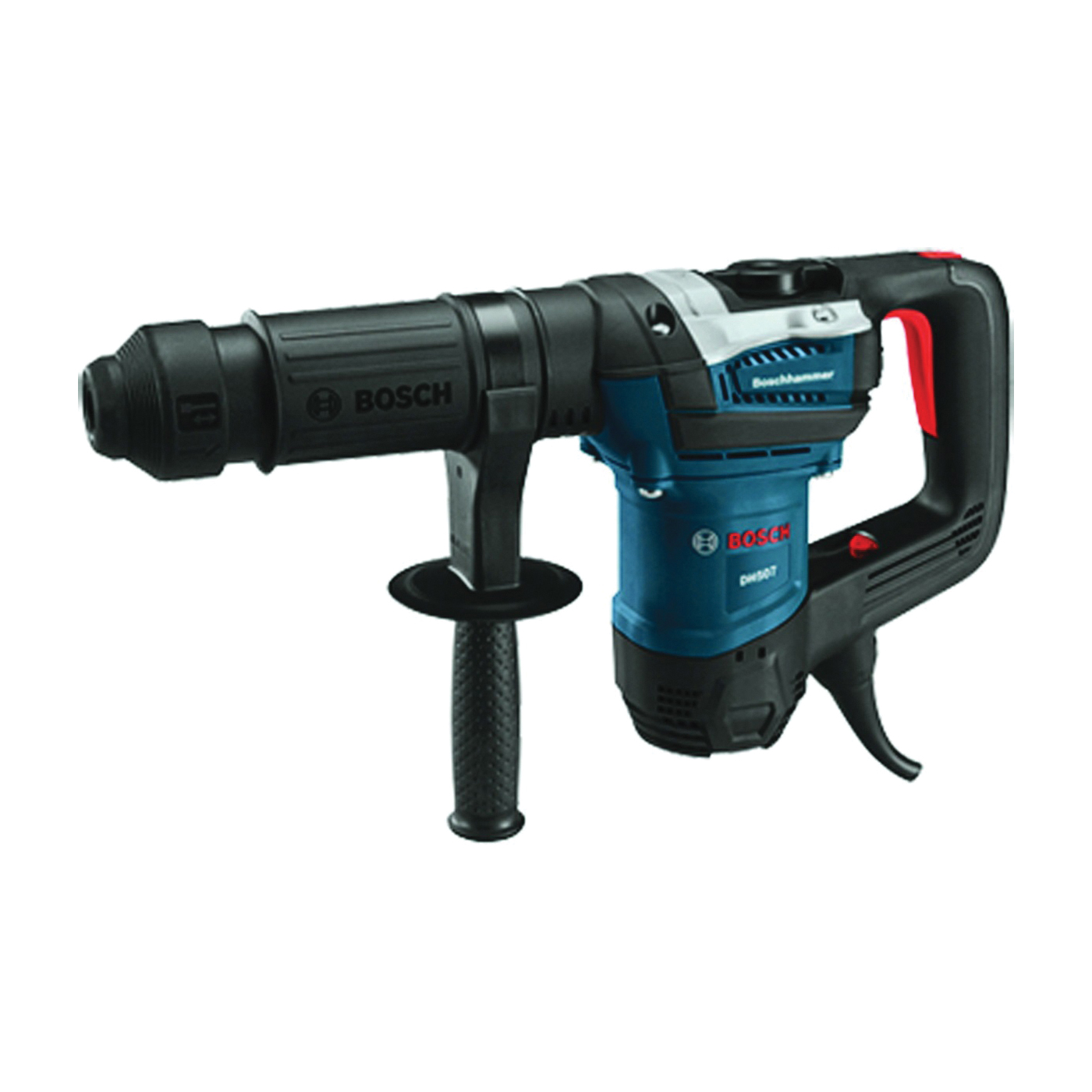 Picture of Bosch DH507 Demolition Hammer, 120 V, 10 A, 1 in Chuck, Keyless, SDS-Max Chuck, 1350 to 2800 bpm BPM