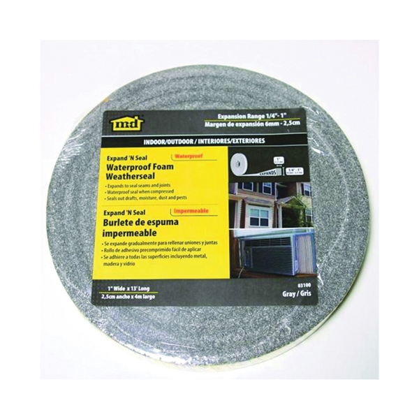 Picture of M-D 03100 Foam Tape, 1 in W, 13 ft L, 1/4 in Thick
