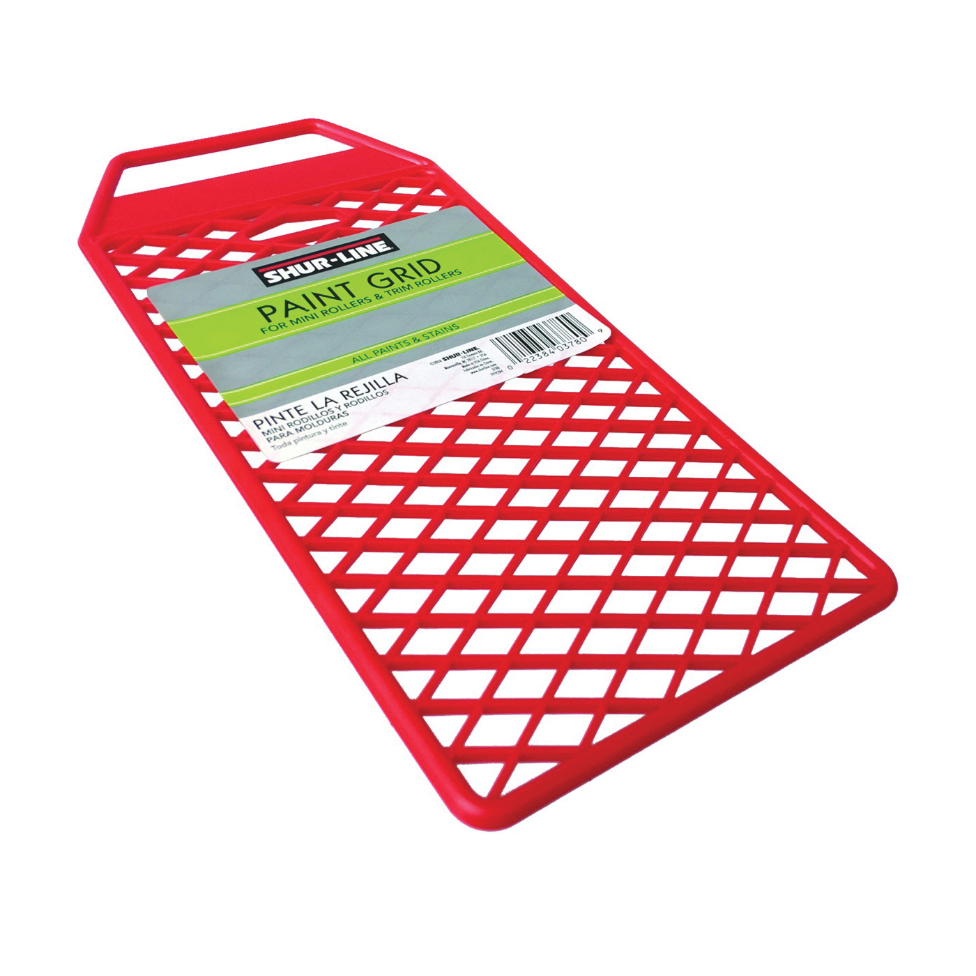 Picture of SHUR-LINE 3780 Paint Grid, Red, For: Shur Line QuickPro Rollers