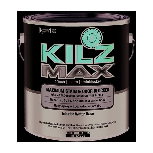 Picture of Kilz MAX L200211 Primer, White, 1 gal, Can